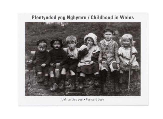 Childhood in Wales - Postcard Book