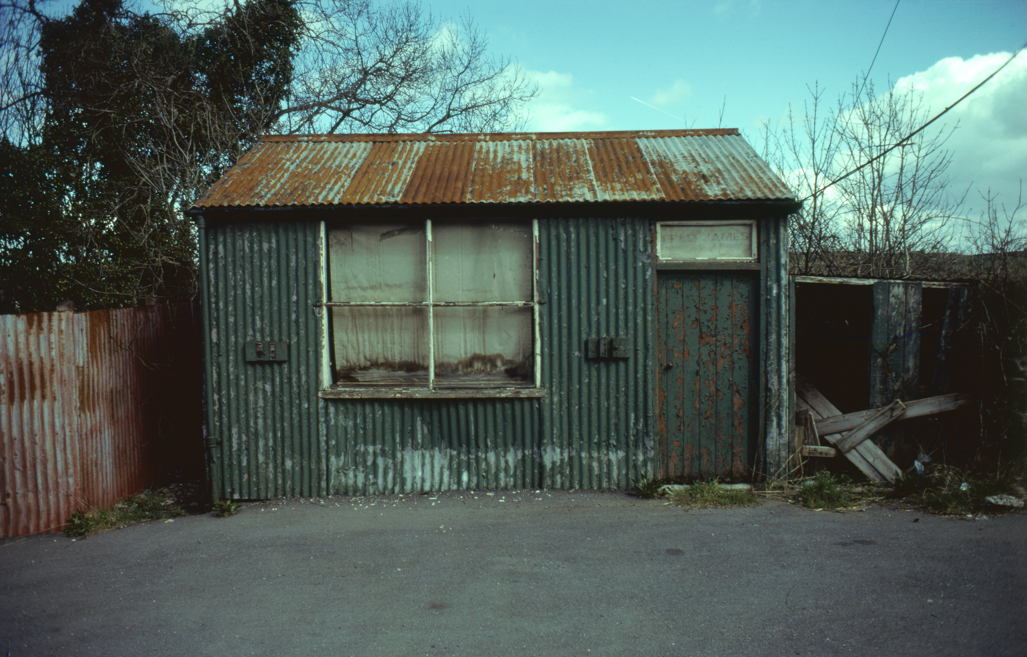 The Saddler's workshop prior to removal to St Fagans National Museum of History