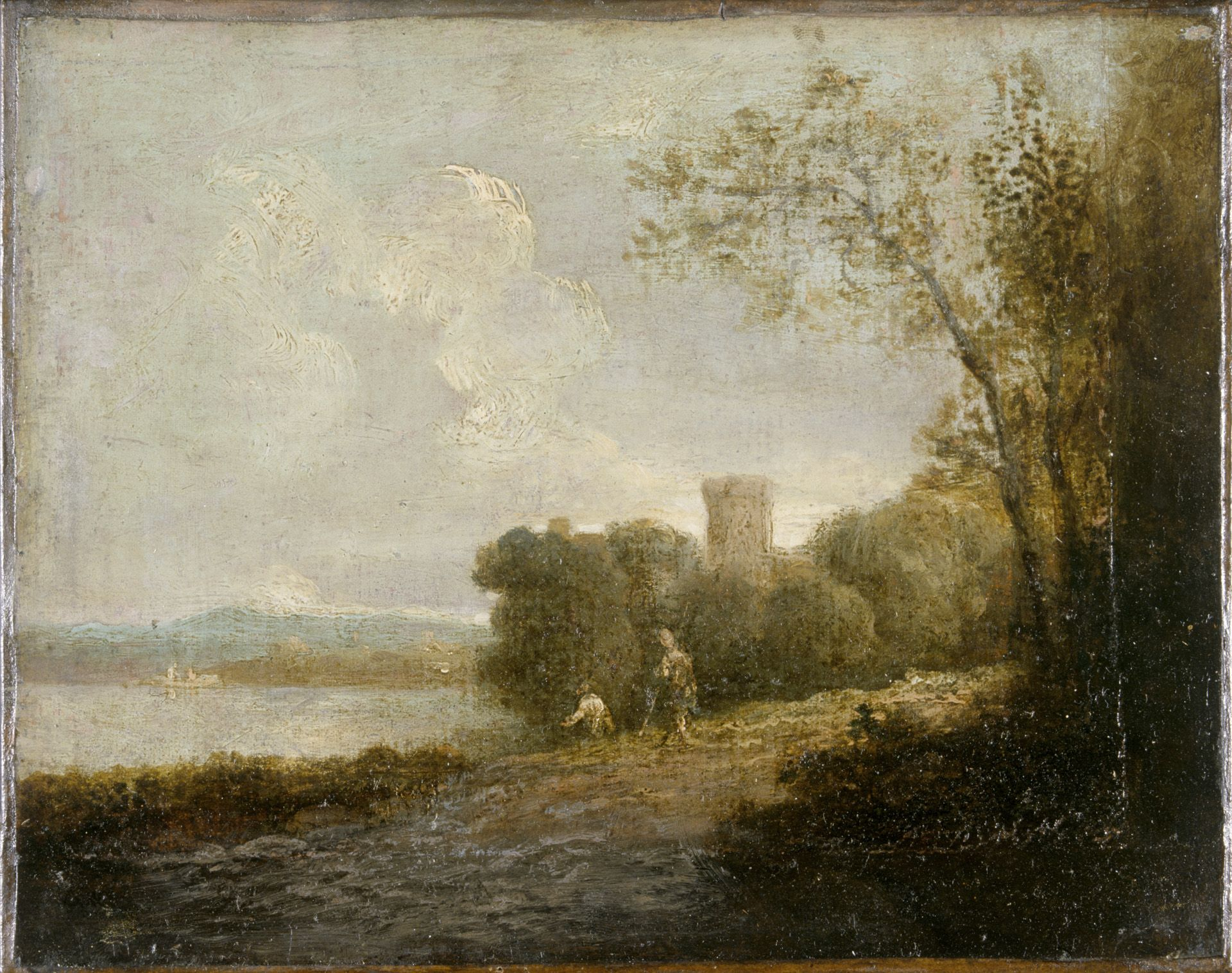 Landscape with a Castle by a Lake