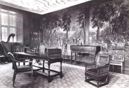 Interior view of St Fagans Castle (Drawing Room)