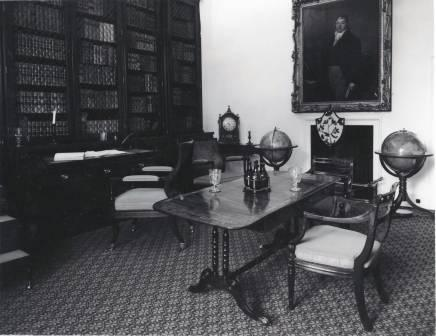 Interior view of St Fagans Castle (Library)