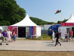 National Museum Wales at the Urdd Eisteddfod