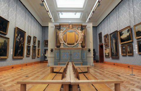 Historic art galleries - National Museum Cardiff