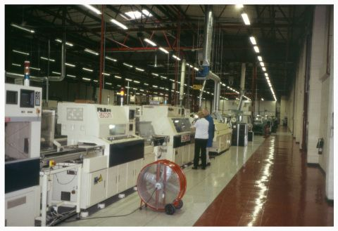 Ascom Telecommunications factory