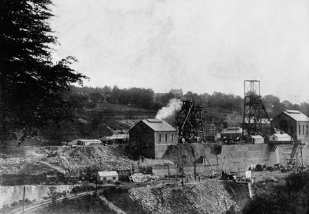 Oakdale Colliery, Sinkings, 1908