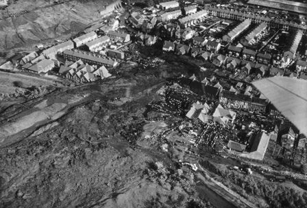 The Aberfan disaster, 1966