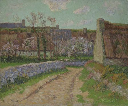 Village in Clohars, 1898 (oil on canvas)