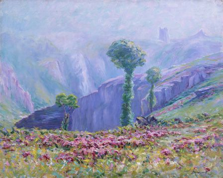 Summer Mist, Valley of La Creuse, c.1916 (oil on canvas)
