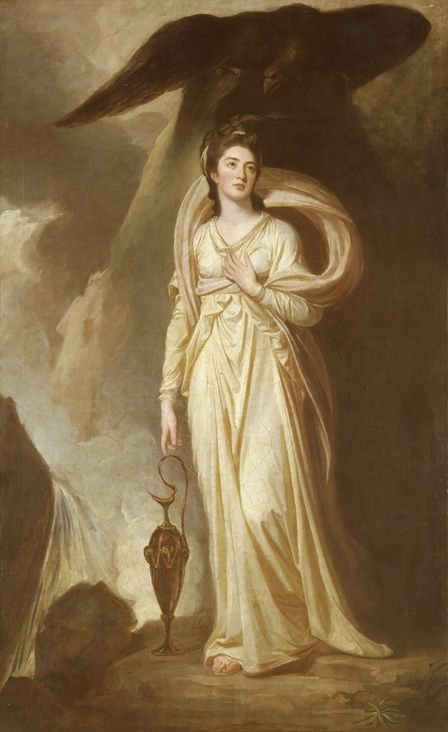 Viscountess Bukely as Hebe, c.1775 (oil on canvas)