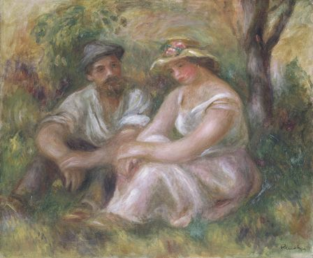 Conversation, 1912 (oil on canvas)