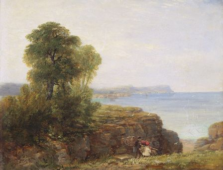 Cardigan Bay, 1846 (oil on canvas)