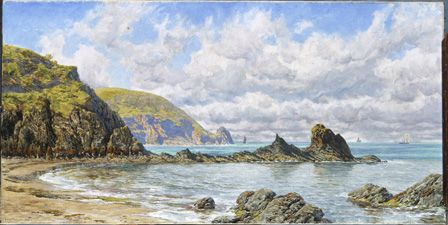 Forest Cove, Cardigan Bay, 1883 (oil on canvas)