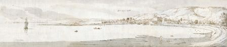 Swansea, c.1678 (w/c and brown ink on paper)