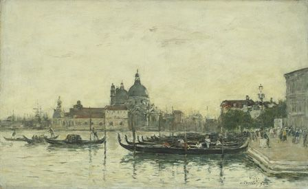 Venice, The Molo, 1895 (oil on canvas)
