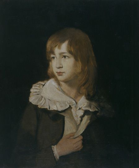 Portrait of a boy, John Parry of Garden, c.1788-89 (oil on canvas)