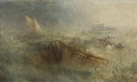 The Storm, c.1840-45 (oil on canvas)