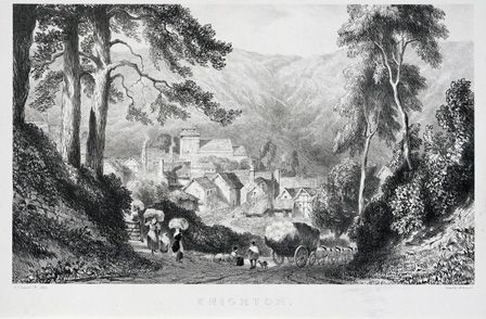 Knighton, 1832 (litho on India paper)