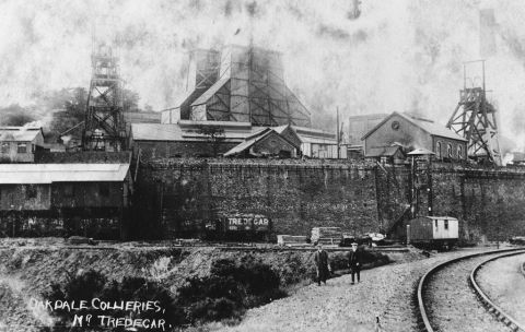Oakdale colliery, c1910 (b/w photo)