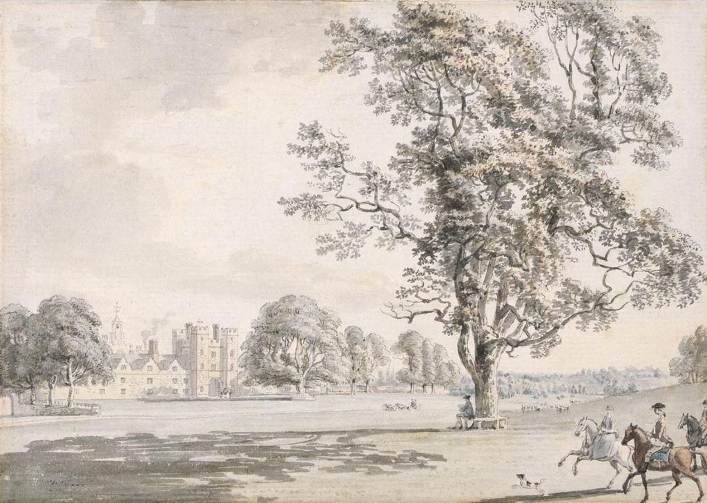 Knole Park, 1770 (w/c & ink on paper)