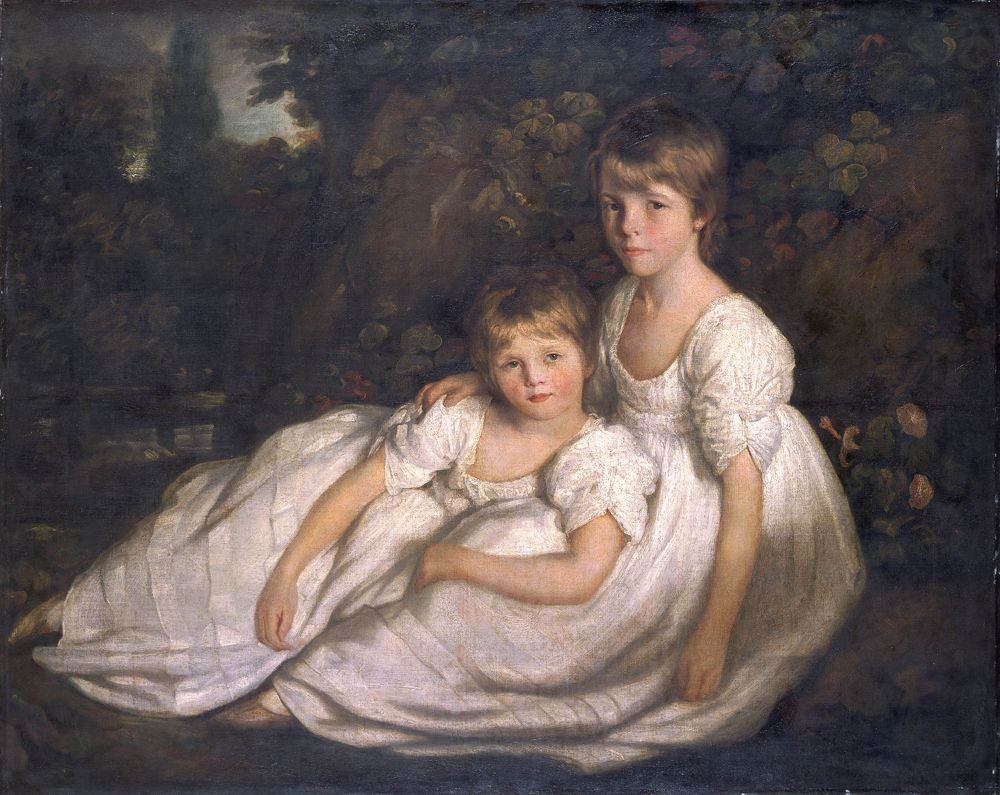 The sisters, c1800 (oil on canvas)