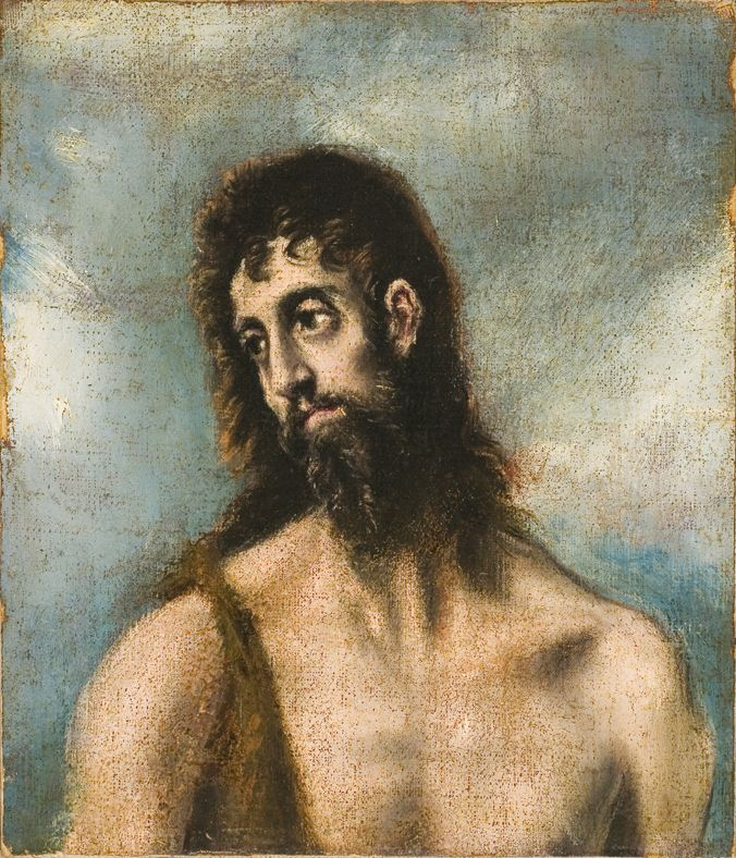 St John the Baptist (oil on canvas)