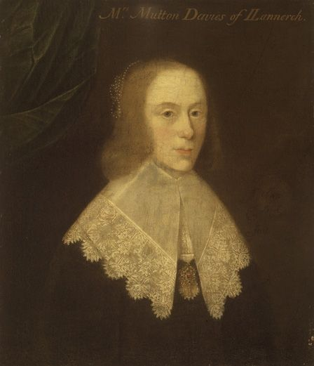 Fig.2: Thomas Leigh, <em>Anne Davies</em>, 1643, NMW A 21