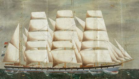 The Clipper MOEL TRYVAN in full sail