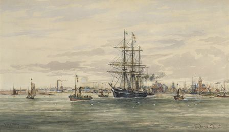 TERRA NOVA leaving Cardiff June 16 1910