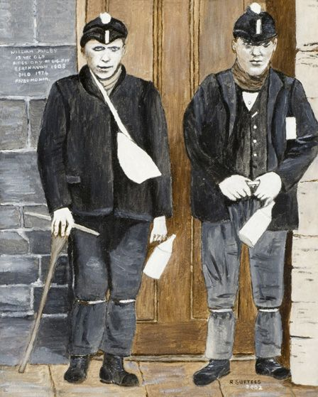 William Philby's first day at Big Pit 1903