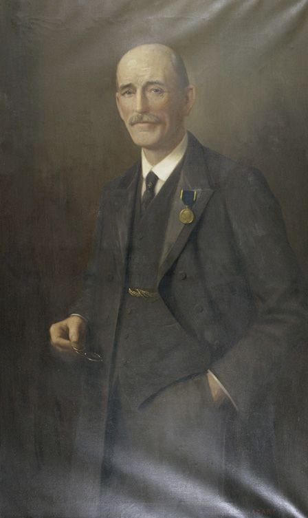 Portrait of Mr H.H. Evans, J.P.
