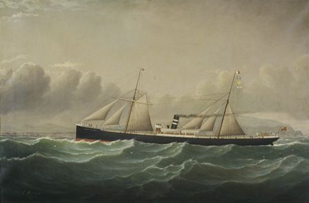 S.S. ANNE THOMAS of Cardiff
