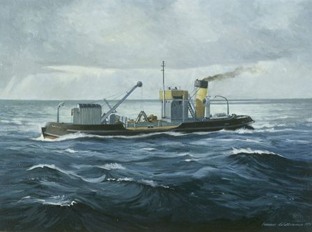 Steam Dredger SEIONT II
