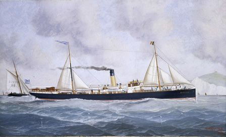 S.S. EMBIRICOS Off Dover