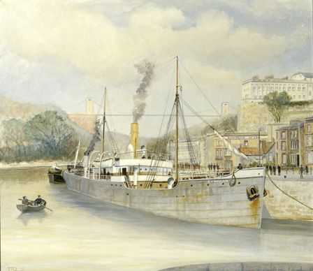S.S. CYMRIAN Entering Bristol
