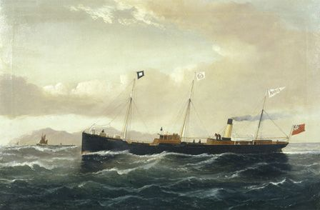 The Cargo Steamer REBECCA