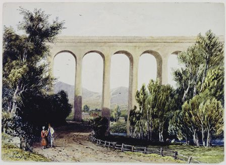 view of a viaduct/aquaduct