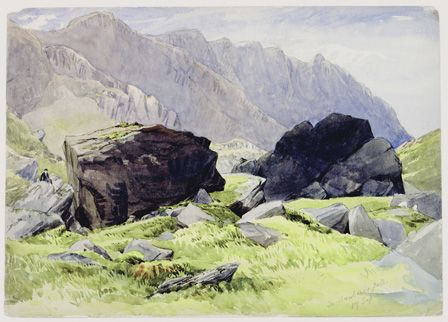 In Llanberis Pass 17 Sep 53
