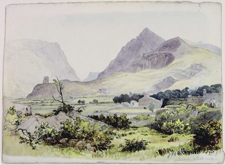 At Llanberis, 30 Sept 1834