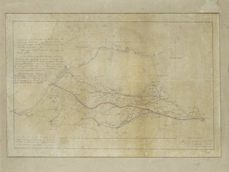 A Sketch of Proposed Railway, 1889, Shrewsbury to Llanuchllyn