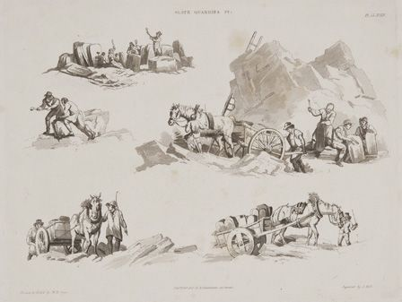 Slate Quarries, 1823