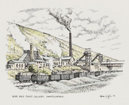 Nine Mile Point Colliery, Cwmfelinfach