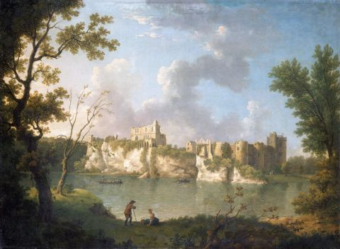 Chepstow Castle (oil on canvas)