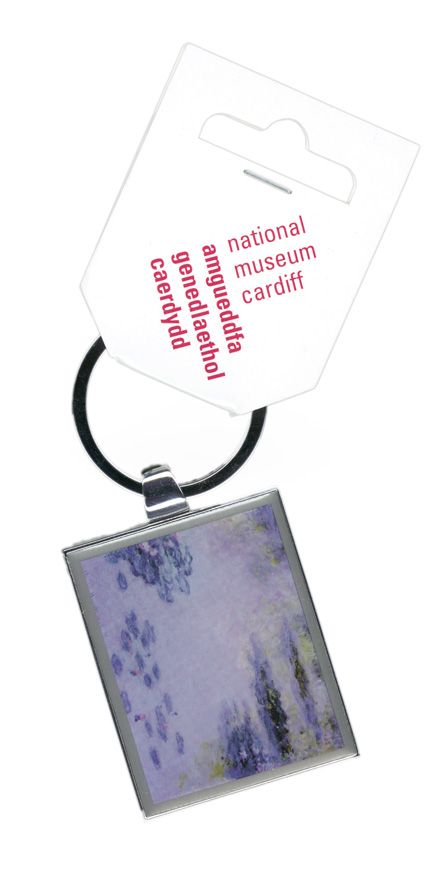 Claude Monet Keyring - Waterlillies 1906