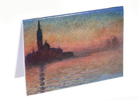 Claude Monet Notebook