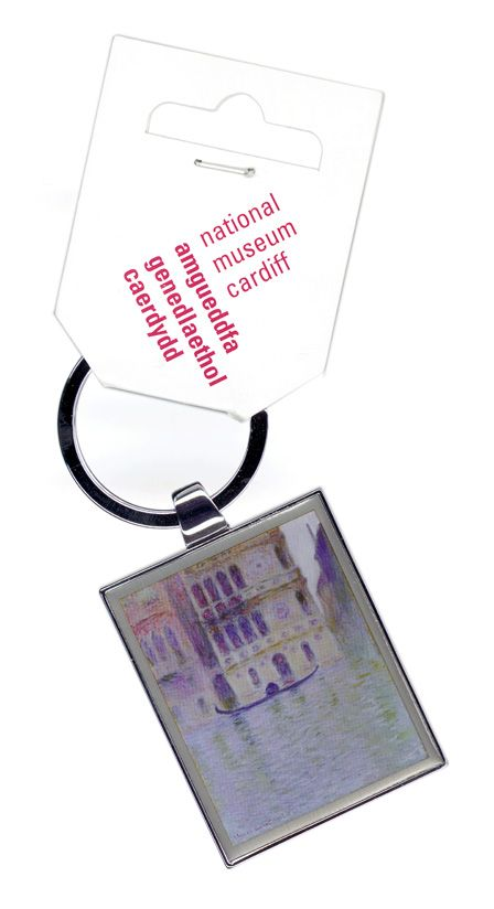 Claude Monet Keyring