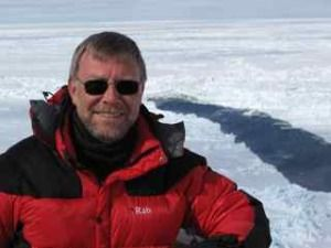 Tom Sharpe in Antarctica