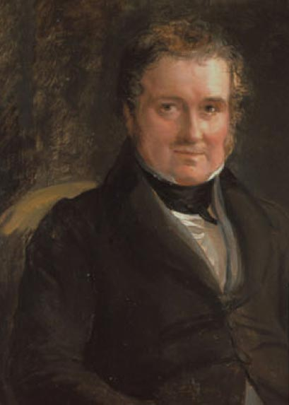 <em>Lewis Weston Dillwyn</em> (1778-1855) by Sir George Hayter (1792-1871).