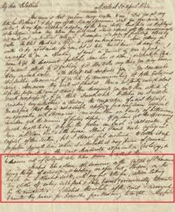 Letter from Logan to De la Beche, 20 April 1844