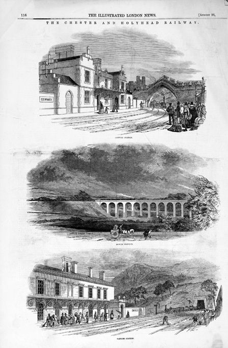 The Chester and Holyhead Railway