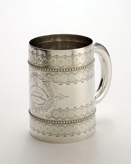 Daily Telegraph Welsh Miners' Fund tankard